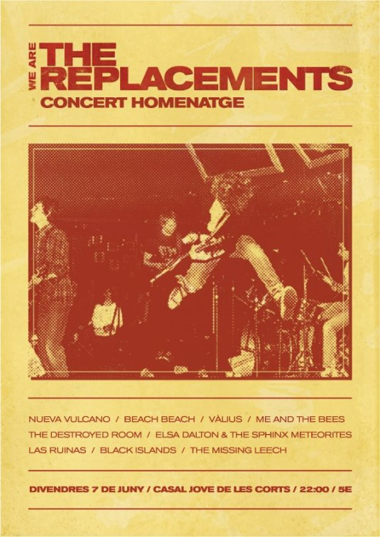 We Are The Replacements - Concert Homenatge