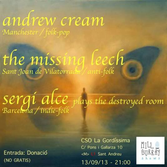 Andrew+Cream++The+Missing+Leech++Sergi+Alce+The+De+flyer+acream