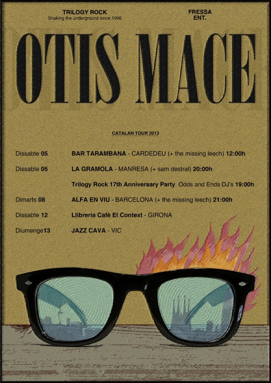 OTIS MACE CATALAN TOUR POSTER2